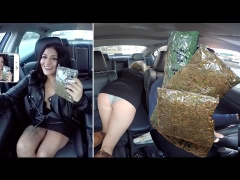 Thumbnail: Selling Massive Amounts Of Marijuana While Driving For Uber Prank!!
