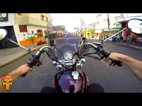 Indo no Correio de VIRAGO 250 Yamaha (Bauru-SP)