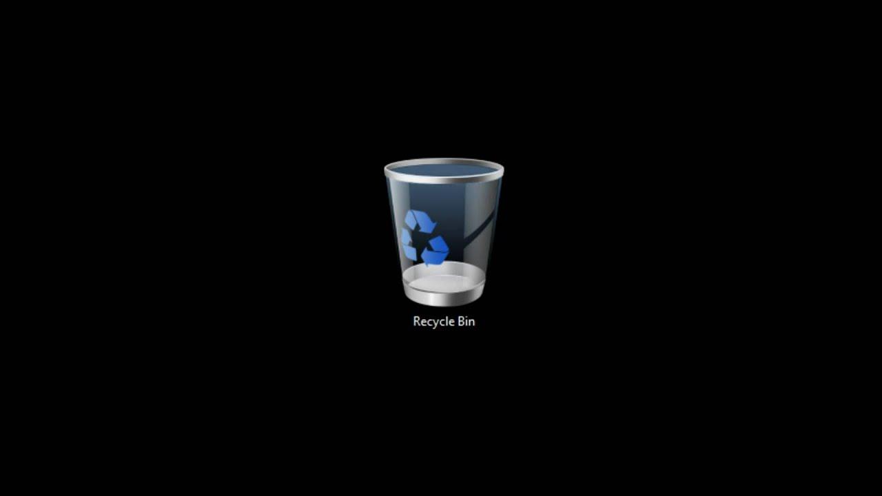 5 minutes of Windows recycle bin emptying - YouTube