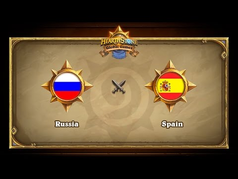 Russia vs Spain, Hearthstone Global Games Group Stage