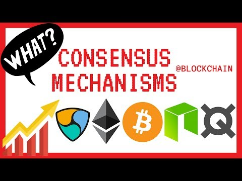 How does Blockchain work? Crypto Consensus Mechanisms explained feat. Neo, Ethereum ETH and NEM