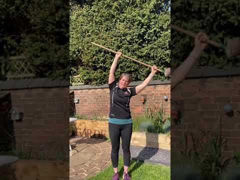 Shoulder stretch routine