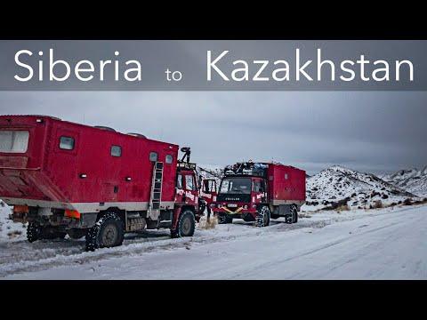 Overland Siberia To Kazakstan. Winter Overlanding In -45˚c. Expedition Trucks.