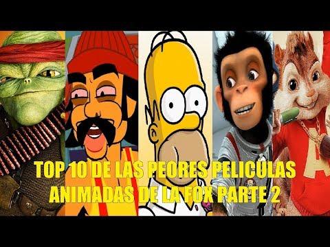 TOP 10 DE LAS PEORES PELÍCULAS ANIMADAS DE LA FOX PARTE 2
