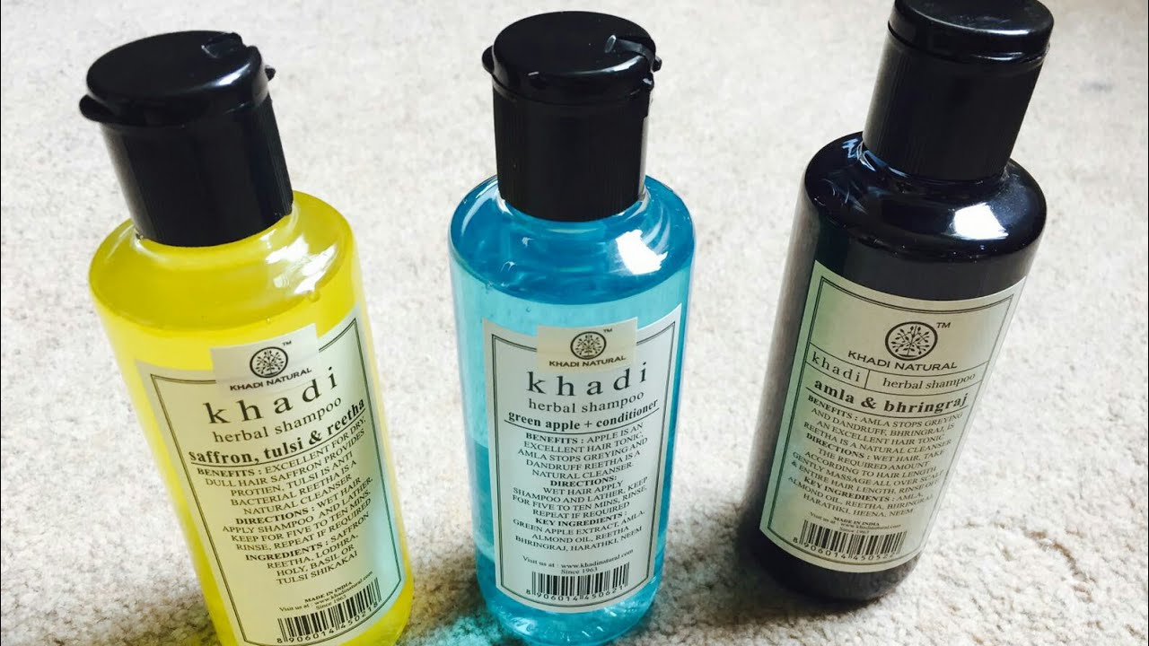 Khadi Natural Herbal Shampoo | FoodyMomm