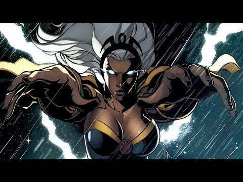 X-Men vs. Street Fighter - Storm (Arcade)
