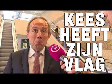 GSTV: Nederlandse vlag hangt in Tweede Kamer
