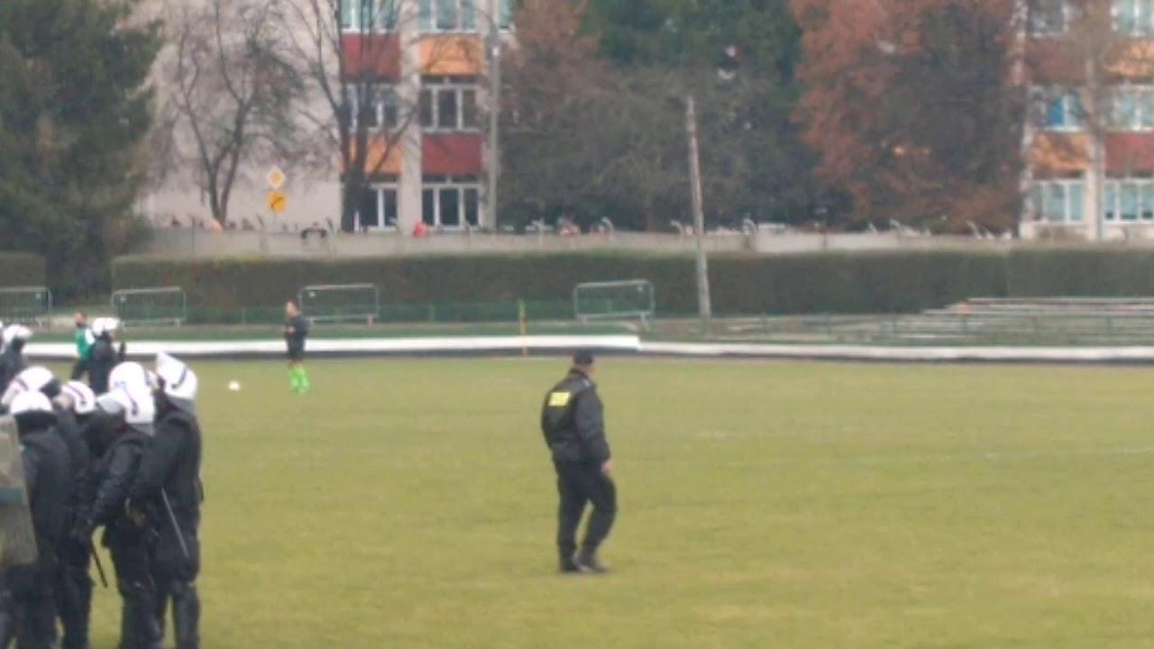 Piast Nowa Ruda Polonia Świdnica interwencja policji