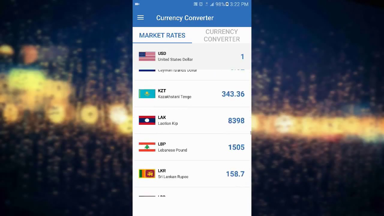 Free Currency Converter Live Rates