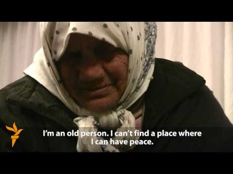 Baku's Homeless Find Temporary Shelter From The Cold (Radio Free Europe/Radio Liberty)