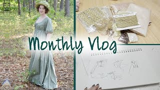 April & May Monthly Vlog : Manhattan Vintage, Recent Purchases & Regency Dresses