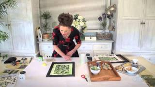 Arts & Crafts Tutorial: How to Make a Living Succulent Picture