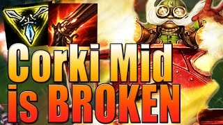 Corki Mid Is BROKEN - How To Play Guide - League of Legends