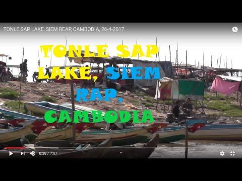 TONLE SAP LAKE, SIEM REAP, CAMBODIA, 26-4-2017