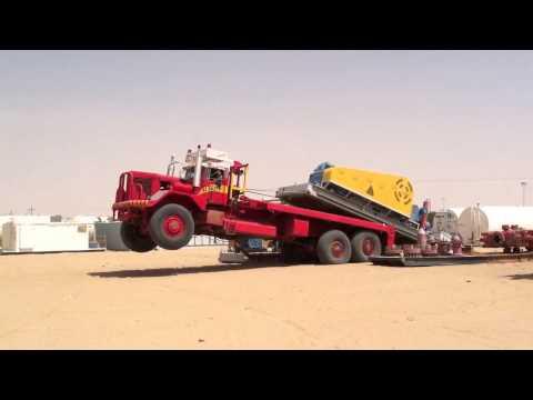Rig move Yemen