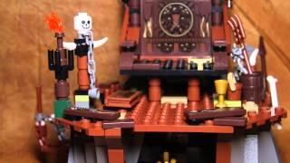 Recenzja Lego Hobbit 79010 The Goblin King Battle /  Bitwa Z Królem Goblinów