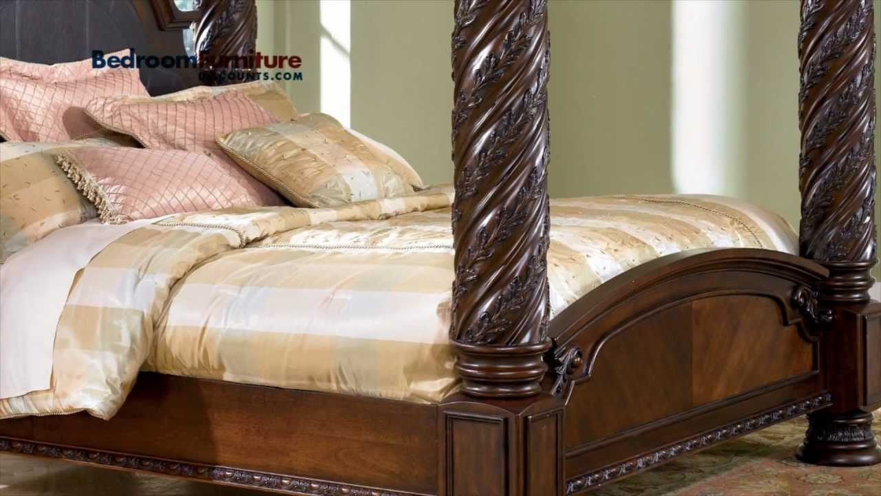 Ashley North Shore Poster Bed Bedroom YouTube - Ashley furniture northshore bedroom set