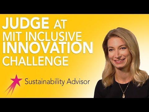 Sustainability Advisor: MIT Inclusive Innovation Challenge - Michaela Rose Career Girls Role Model