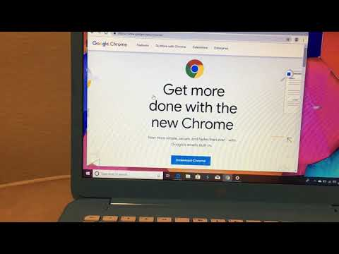 How To Download CHROME To Windows 10 Hp