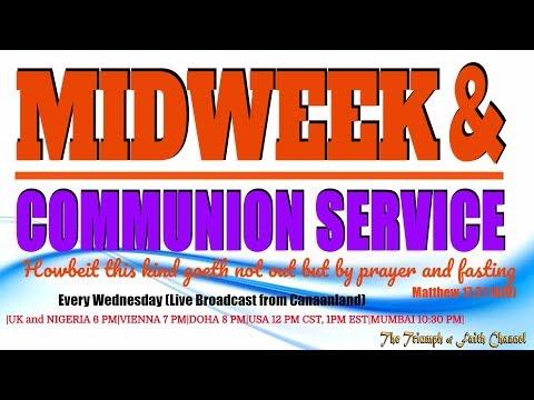 Midweek Service, September 20, 2017