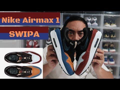 """de'aaron-fox-nike-air-max-1-premium-swipa-""""review-and-on-foot"""""""