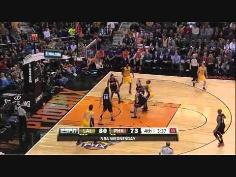 PJ Tucker's Tough Defense on Kobe vs Lakers