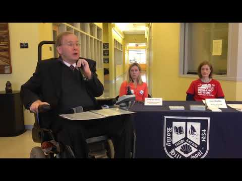 R.I. Rep. Langevin tells students his story