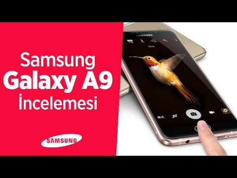 Samsung Galaxy A9 Mercek Altında