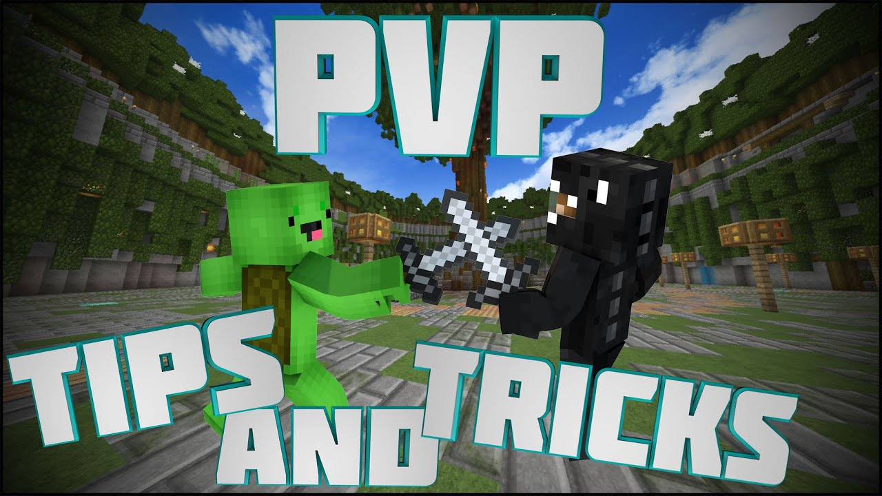 Minecraft Creative Tips Tricks: Minecraft: Pvp Tips & Tricks #3
