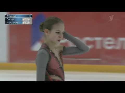 Alexandra TRUSOVA FS TWO QUADS!! 2019 Russian Junior National Championships