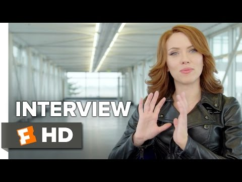 Captain America: Civil War Interview - Scarlett Johansson (2016) - Action Movie HD