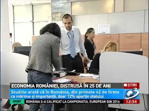 Economia României controlată de străini