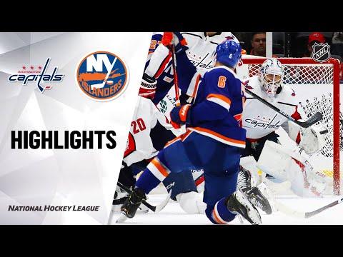 NHL Highlights | Capitals @ Islanders 1/18/20