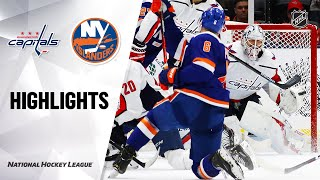NHL Highlights | Capitals @ Islanders 1/18/20