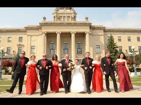 Steve & Jeannette's Wedding, Aug. 19, 2017