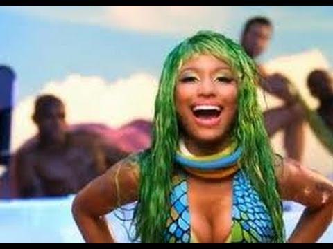 Nicki Minaj - Super Bass Official HALLOWEEN Music VIdeo Look Makeup