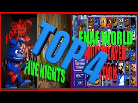 TOP 4 FIVE NIGHTS AT FREDDY'S FAN GAMES 2016