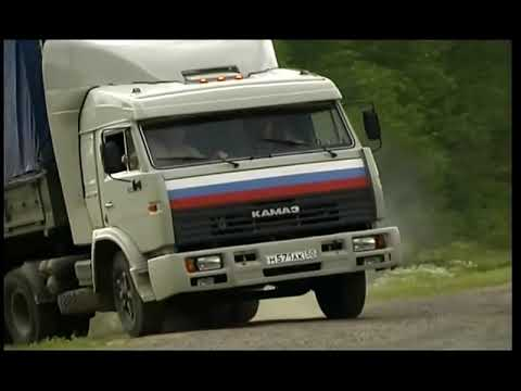Дальнобойщики уход от бандитов на ВАЗ 2109