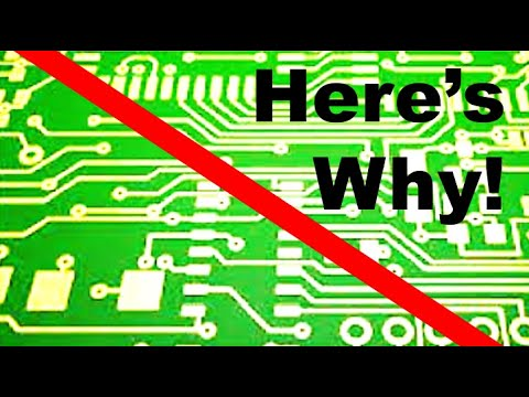 Electronics on the Floor: Five reasons not to use printed circuit boards for projects