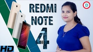 Xiaomi Redmi Note 4 Detailed Specs & Features In Hindi | Opinion | Launch Date & Price In India