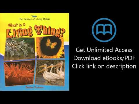 Download What Is A Living Thing? (Science Of Living Things) PDF