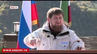 Рамзан Кадыров провел расширенное совещание в селении Ведучи