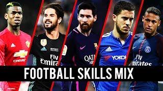 Best Football Skills Mix 2018 • Neymar • Ronaldo • Messi • Griezmann • Isco • Mbappé • Hazard & More