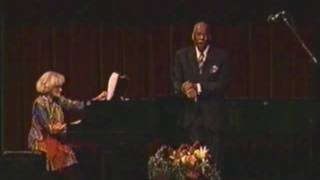 "William Warfield performs ""Deep River"""