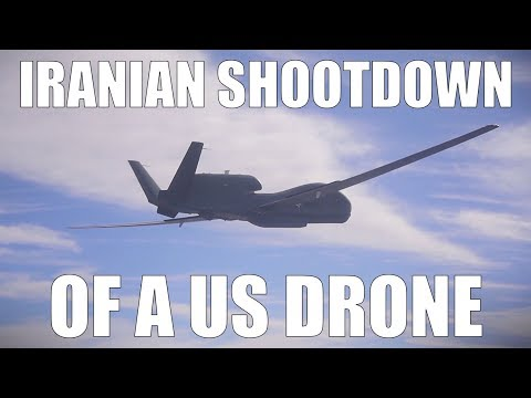 US Iran and a Drone