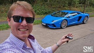 300km/h Aventador S Test Drive on the Autobahn! | REVIEW