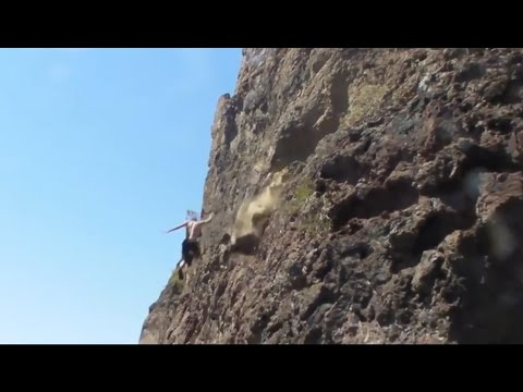 Rock Climbing Falls, Fails and Whippers Compilation