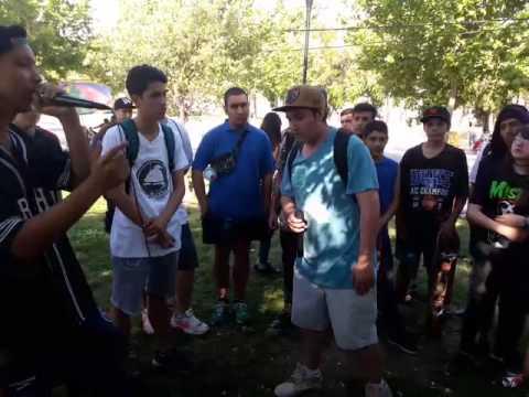 Demius vs Rap Conciente Batalla de Armas Santiago
