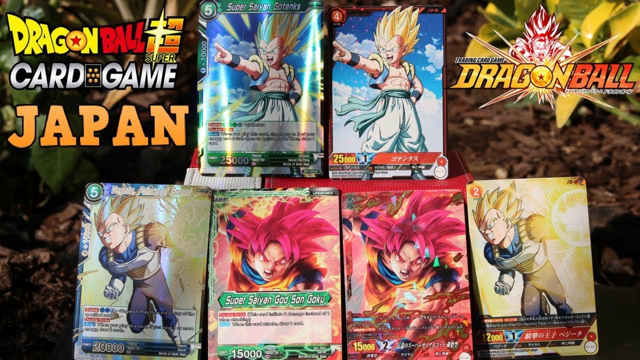 ORIGINAL JAPANESE DRAGON BALL SUPER CARD GAME ...