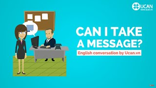 Learn English Conversation: Lesson 20. Can I take a message?